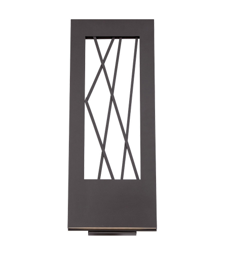 Modern Forms WS-W5521-BZ Twilight LED Outdoor Wall Light in Bronze