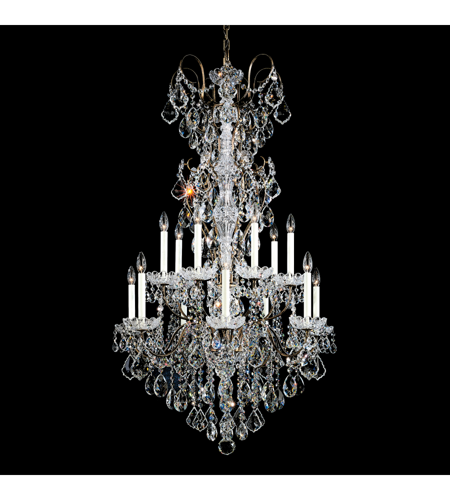 Antique Chandeliers New Orleans Crystal And Bronze Gas