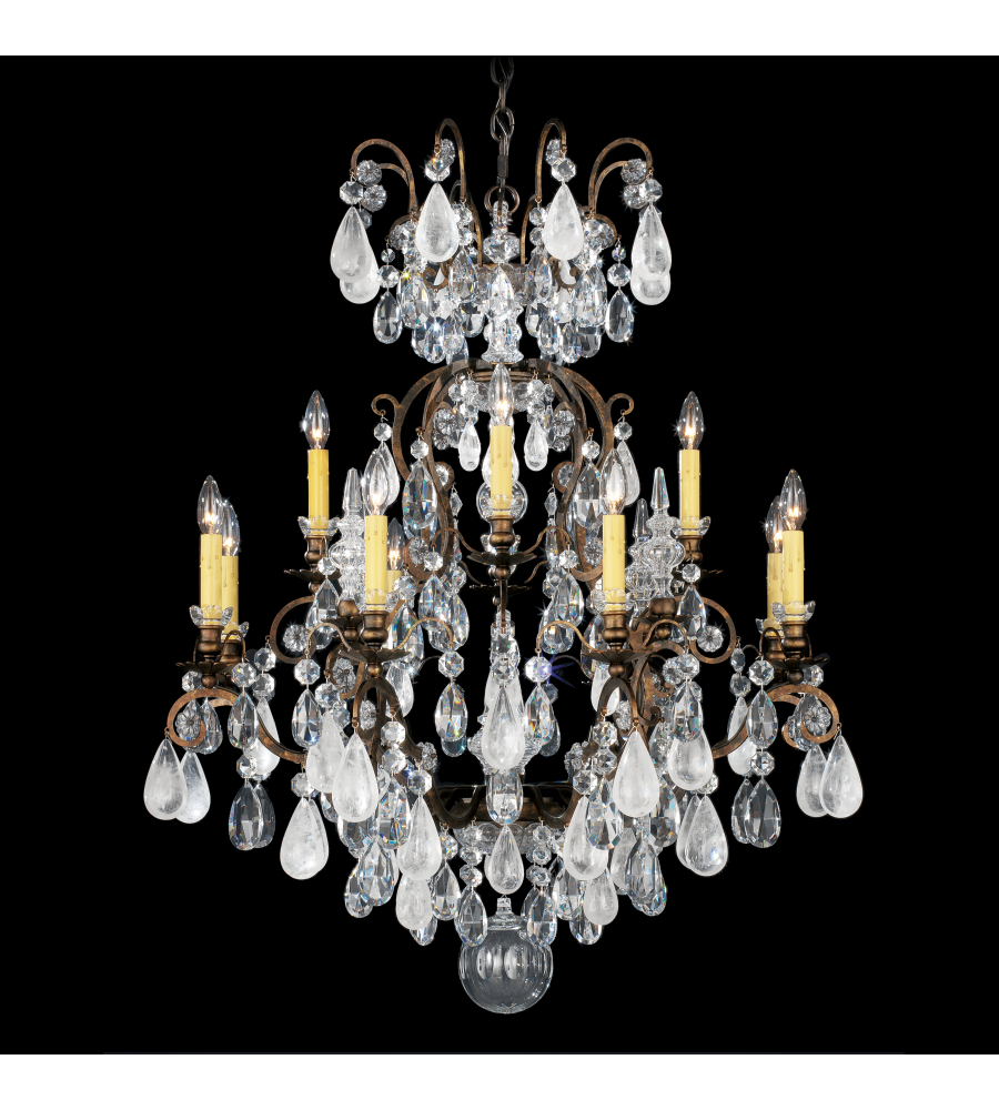 Schonbek 3572 26ad renaissance rock crystal 13 light 110v chandelier schonbek 3572 26ad renaissance rock crystal 13 light 110v chandelier in french gold with amethyst and black diamond rock crystal colors mozeypictures Gallery