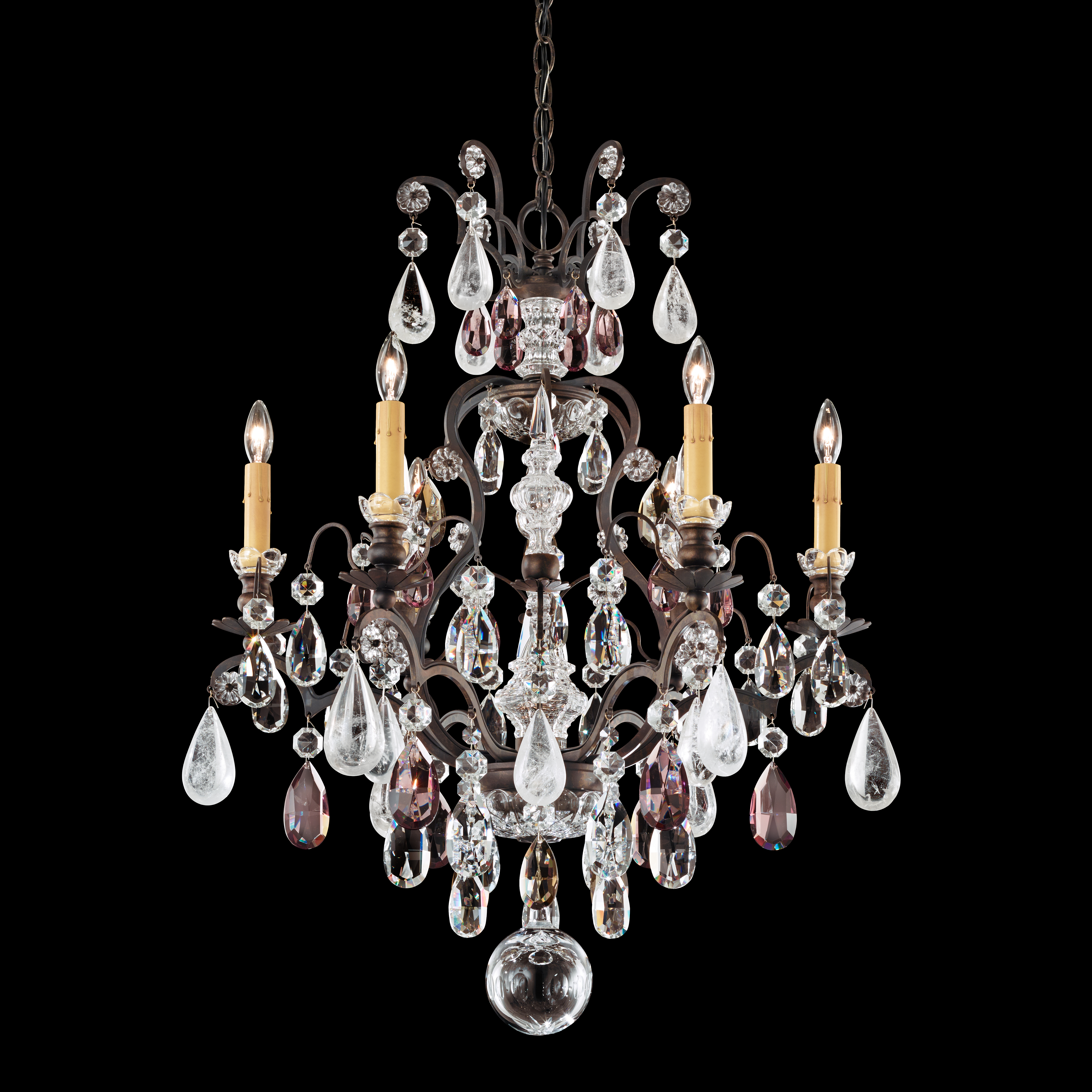 chandeliers century crystal organic oval contemporary mid chandelier modern hall rock starburst dering transitional