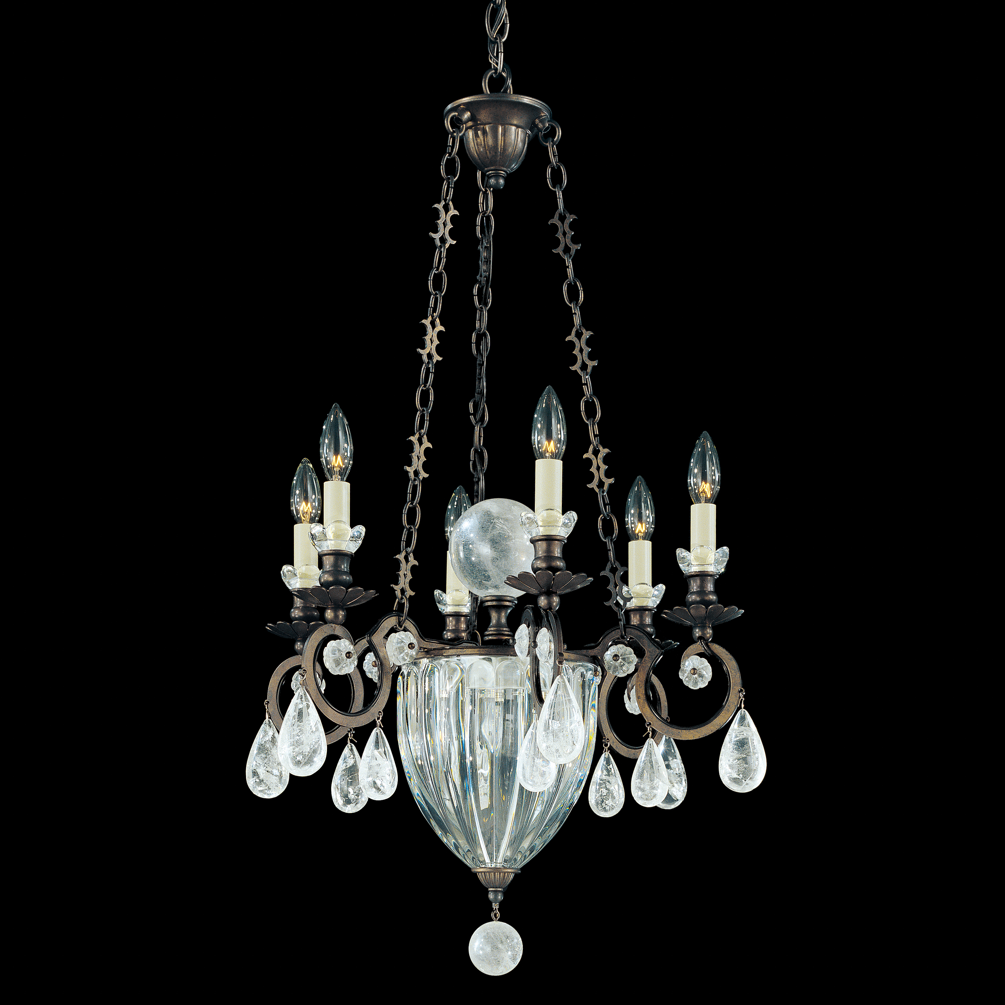 from crystal antique drops main simple rock with chandelier
