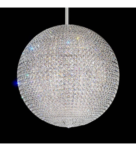 Schonbek Dv3636a Da Vinci 72 Light 110v Pendant In Stainless Steel With Clear Spectra Crystal