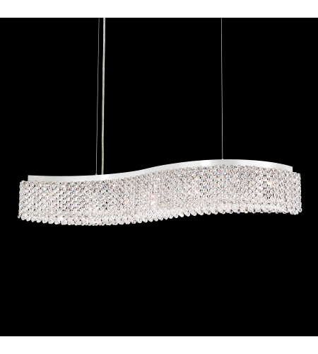 Schonbek Rel33131n-Ss1bul Refrax Led Led 110v Pendant In Stainless Steel With Bullet Crystals From Swarovski