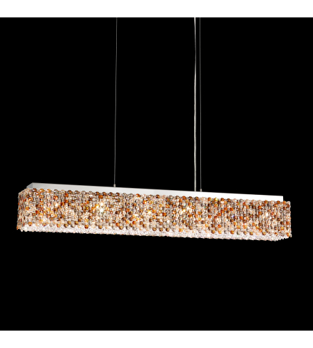 Schonbek Rel36050n-Ss1tra Refrax Led Led 110v Pendant In Stainless Steel With Travertine Crystals From Swarovski
