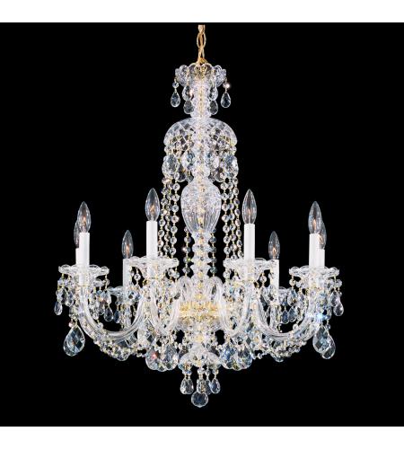 Schonbek 2996 40a sterling 9 light 110v chandelier in silver with schonbek 2996 211a sterling 9 light 110v chandelier in aurelia with clear spectra crystal aloadofball Choice Image