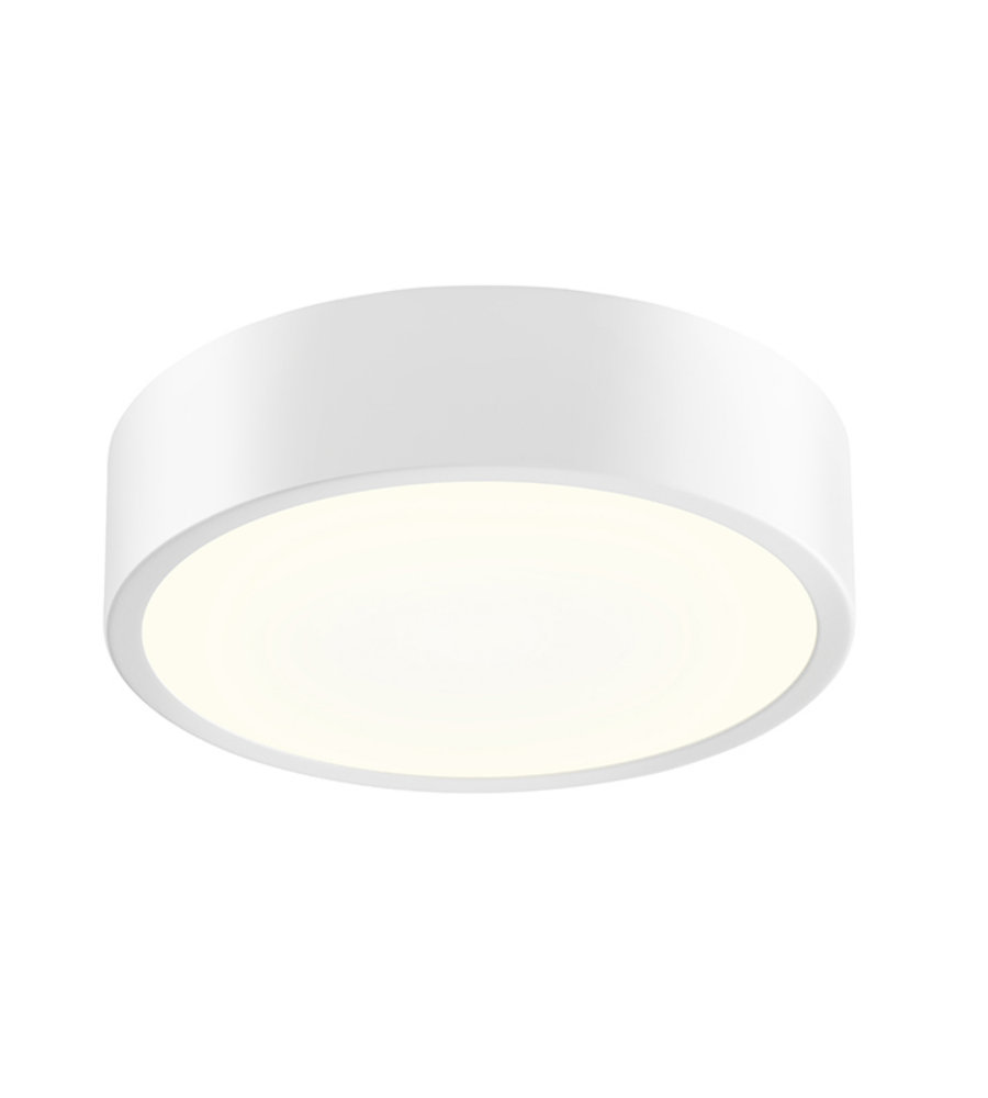 Sonneman 2745 98 pi 8 led surface mount in textured white