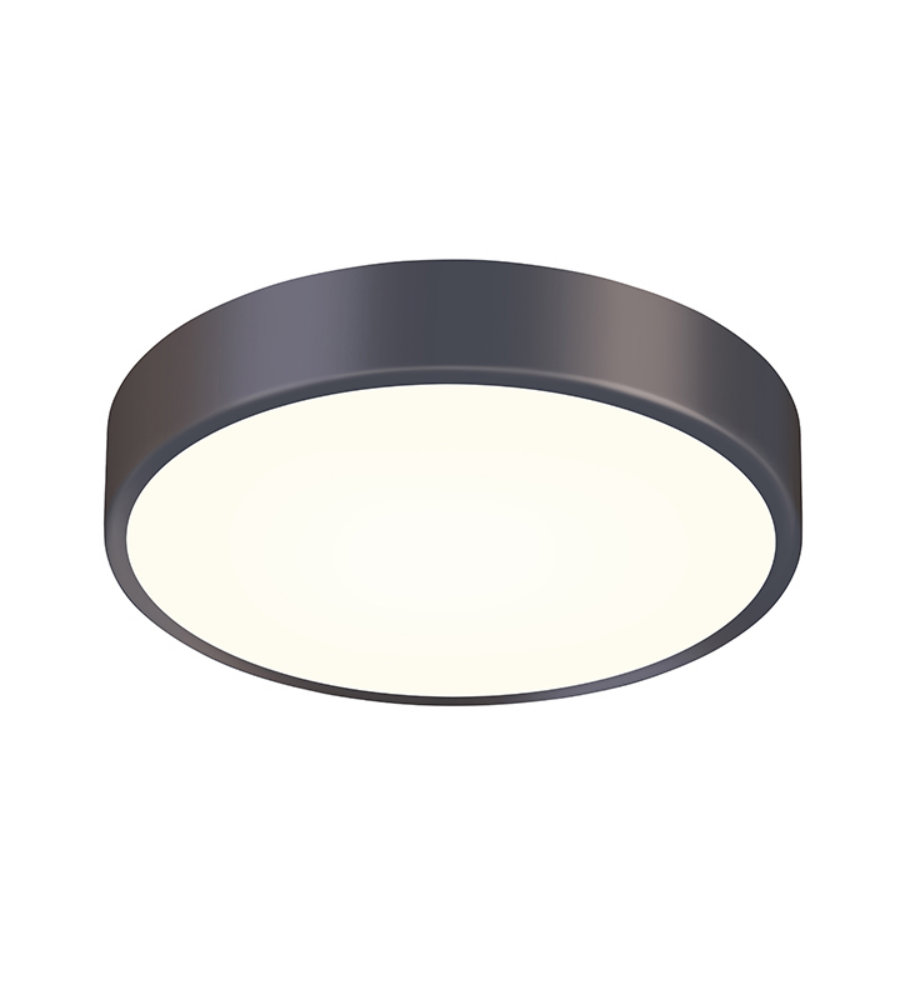 Sonneman 2746 32 pi 12 led surface mount in black bronze
