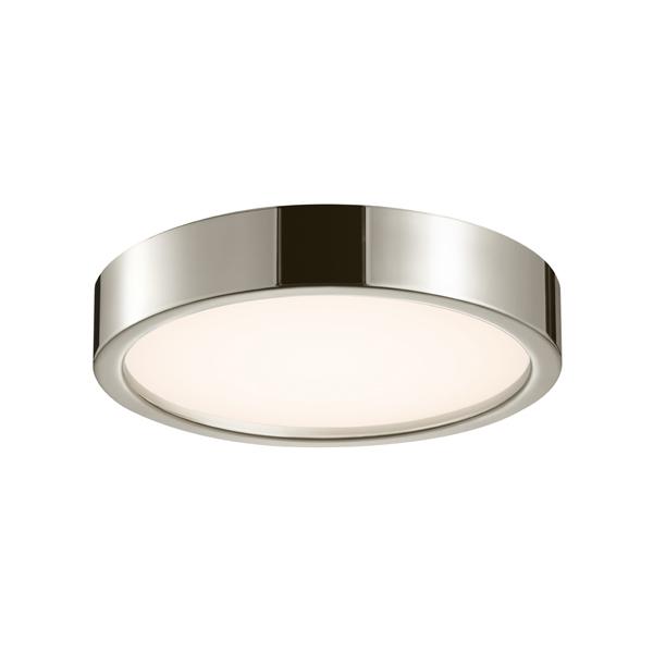 led surface mount ceiling lights wrap around sonneman puck slim led 372535 light 15