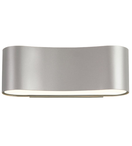Sonneman 1725.16 Corso LED LED Sconce in Bright Satin Aluminum