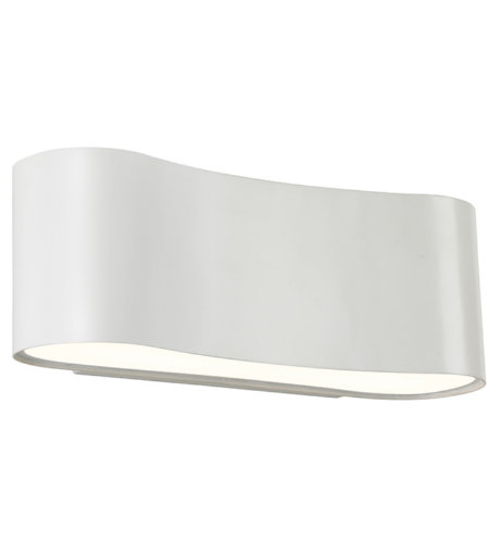 Sonneman Corso Led 1725.98 1 Light Led Sconce In Textured White