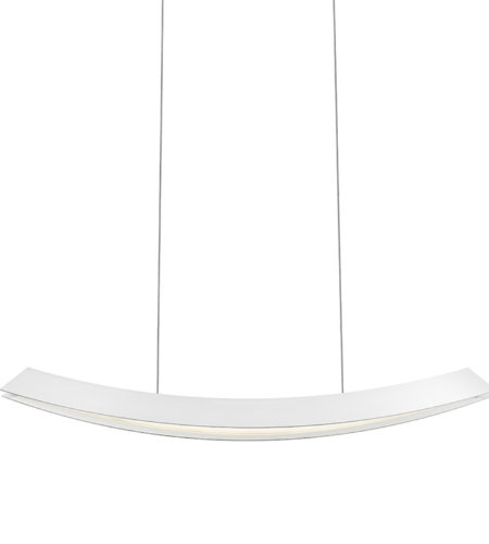 Sonneman 1742.98 Kabu Large LED Pendant in Textured White