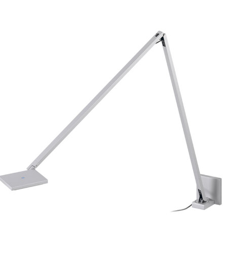 Sonneman Quattro® 2052.16 1 Light Double Arm Led Wall Lamp In Bright Satin Aluminum
