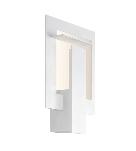 Sonneman 2364.98 Portal LED Sconce in Textured White
