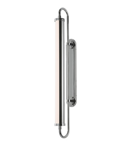 Sonneman 2492.01 Bauhaus Revisited Rohr Tall LED Sconce in Polished Chrome