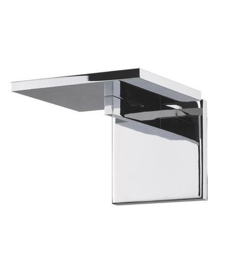 Sonneman 2570.01 Panels 1 Light LED Wall Torchiere in Polished Chrome