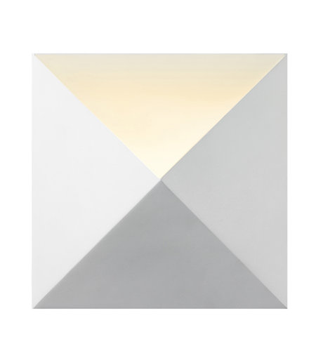 Sonneman 2714.98 Prism LED Sconce in Textured White
