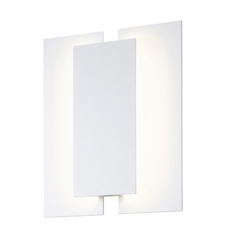 Sonneman 2722.98 Batten LED Sconce in Textured White