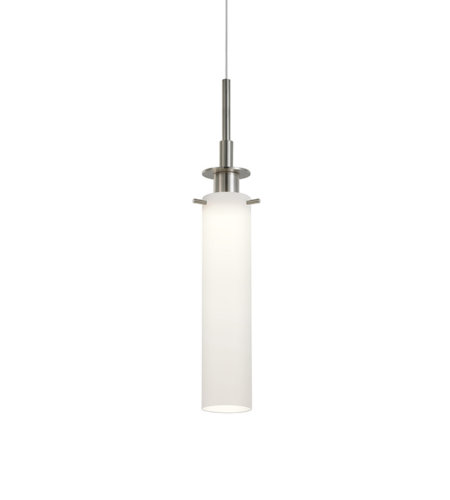 Sonneman 3027.13 Candle Plus LED LED Long Pendant in Satin Nickel