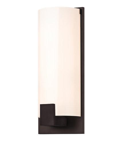 Sonneman 366226 Tangent Contemporary 3 Light Square Sconce In Dark Bronze