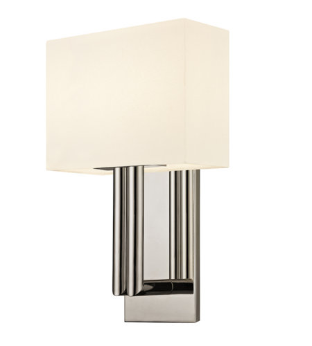 Sonneman 4610.35 Madison Contemporary 2 Light Sconce In Polished Nickel