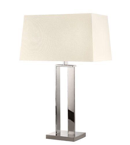 Sonneman D 4690.35 2 Light Table Lamp In Polished Nickel