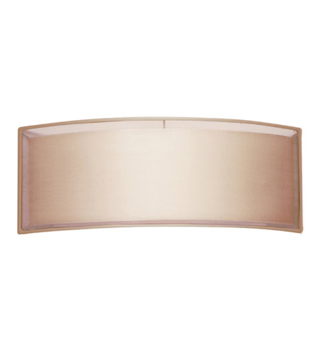 Sonneman 6018.51 Puri 2 Light ADA Horizontal Sconce in Black Brass