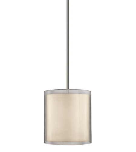 Sonneman 6019.13 Puri 3 Light Large Pendant in Satin Nickel