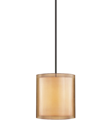Sonneman 6019.51 Puri 3 Light Large Pendant in Black Brass