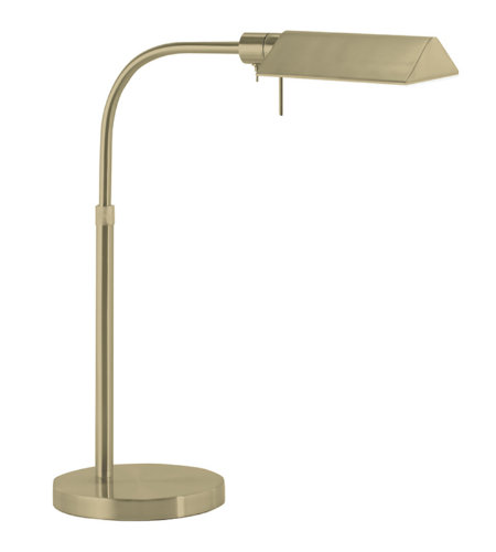 Sonneman Tenda 7004.38 1 Light Pharmacy Table Lamp In Satin Brass