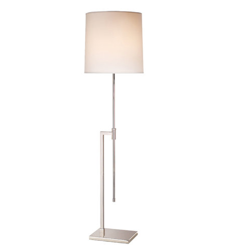 Sonneman 7008.35 Palo Contemporary 1 Light Floor Lamp In Polished Nickel