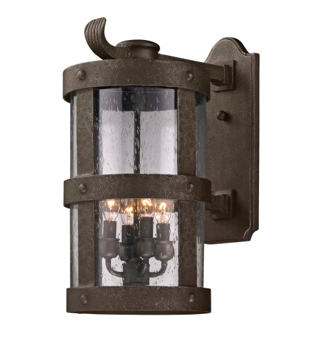 Troy Exterior Lighting B3313 Barbosa 4 Light Exterior Large Wall Mount Lantern in Barbosa Bronze