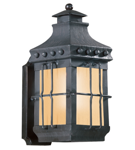 Troy Exterior Lighting BF8970NB Dover 1 Light Exterior Small Wall Mount Lantern in Natural Bronze