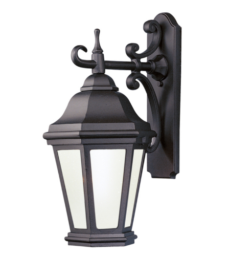 Troy Exterior Lighting BFCD6891MB Verona 1 Light Exterior Large Wall Mount Lantern in Matte Black