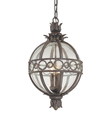 Troy Exterior Lighting F5009CB Campanile 4 Light Exterior Xlarge Ceiling Mount Hanging Lantern in Campanile Bronze