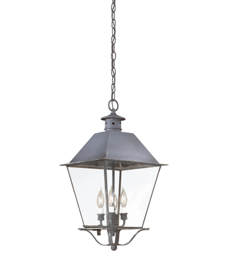 Troy Exterior Lighting F9139CI Montgomery 4 Light Exterior Xlarge Ceiling Mount Hanging Lantern in Charred Iron