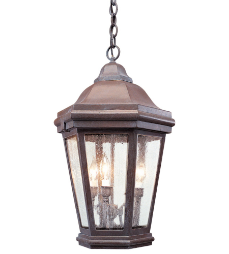 Troy Exterior Lighting FCD6895BZP Verona 0 Light Exterior Large Ceiling Mount Hanging Lantern in Bronze Patina