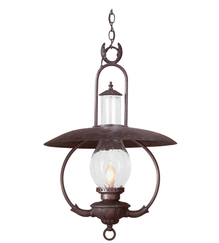 Troy Exterior Lighting FCD9014OBZ La Grange 1 Light Exterior Xlarge Ceiling Mount Hanging Lantern in Old Bronze