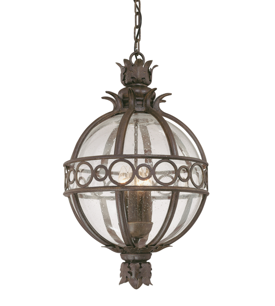 Outdoor Lantern Pendant Lighting : Troy lighting f cb campanile light outdoor hanging