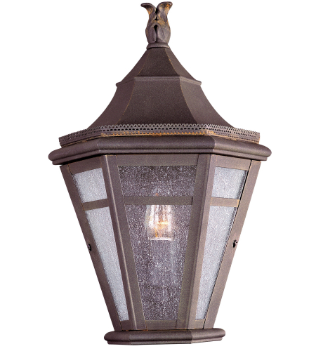 Troy Lighting B1278NR Morgan Hill 1 Light Pocket Lantern Medium in Natural Rust