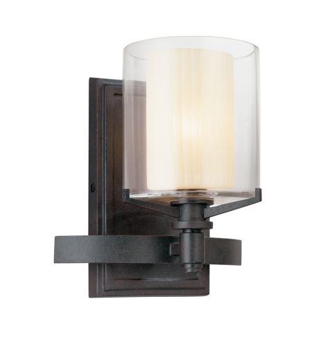 Troy Lighting B1711FR Arcadia 1 Light Bath in French Iron