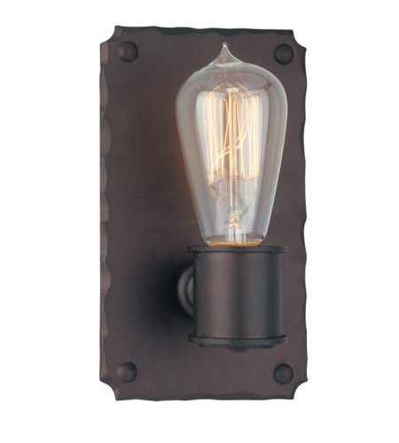 Troy Lighting B2501cb Rustic 1 Light Jackson Wall Sconce In Copper Bronze