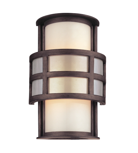 Troy Lighting B2731 Discus 1 Light Wall Lantern Small in Graphite