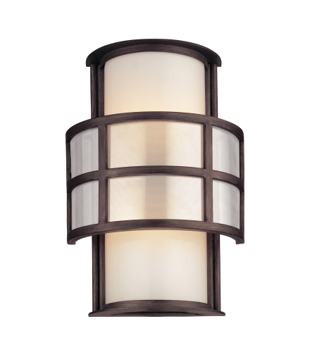 Troy Lighting B2732 Modern 2 Light Discus Wall Sconce In Graphite