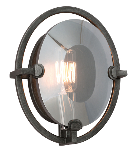 Troy Lighting B2821 Industrial 1 Light Prism Wall Sconce In Graphite