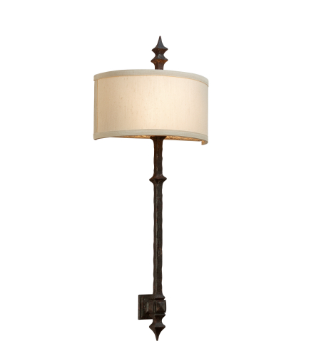 Troy Lighting B2912 Rustic 2 Light Umbria Wall Sconce In Umbria Bronze