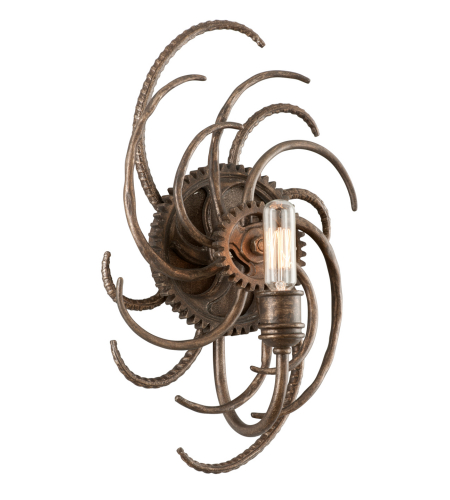 Troy Lighting B3671 Industrial 1 Light Revolution Wall In Revolution Bronze