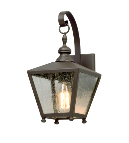 Troy Lighting B5191 Mumford 1 Light Wall Lantern Small in Bronze