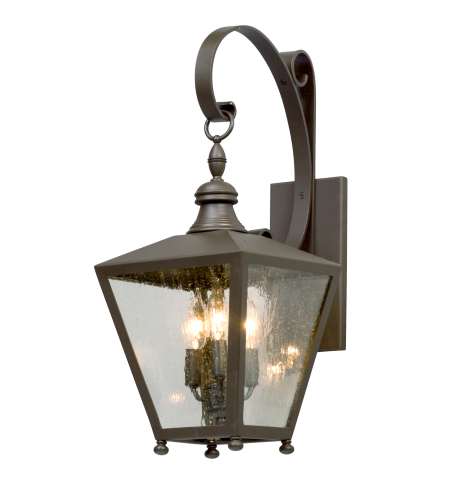 Troy Lighting B5192 Mumford 3 Light Wall Lantern Medium in Bronze