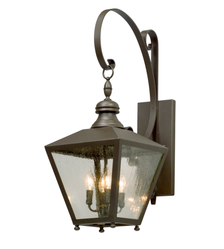 Troy Lighting B5193 Mumford 4 Light Wall Lantern Large in Bronze