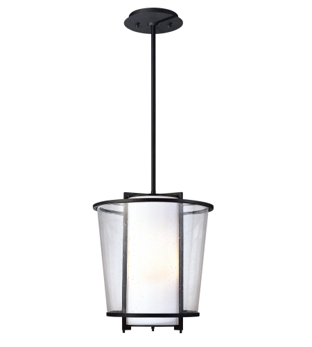 Troy Lighting F1358FBZ Bennington 3 Light Pendant in Forged Bronze